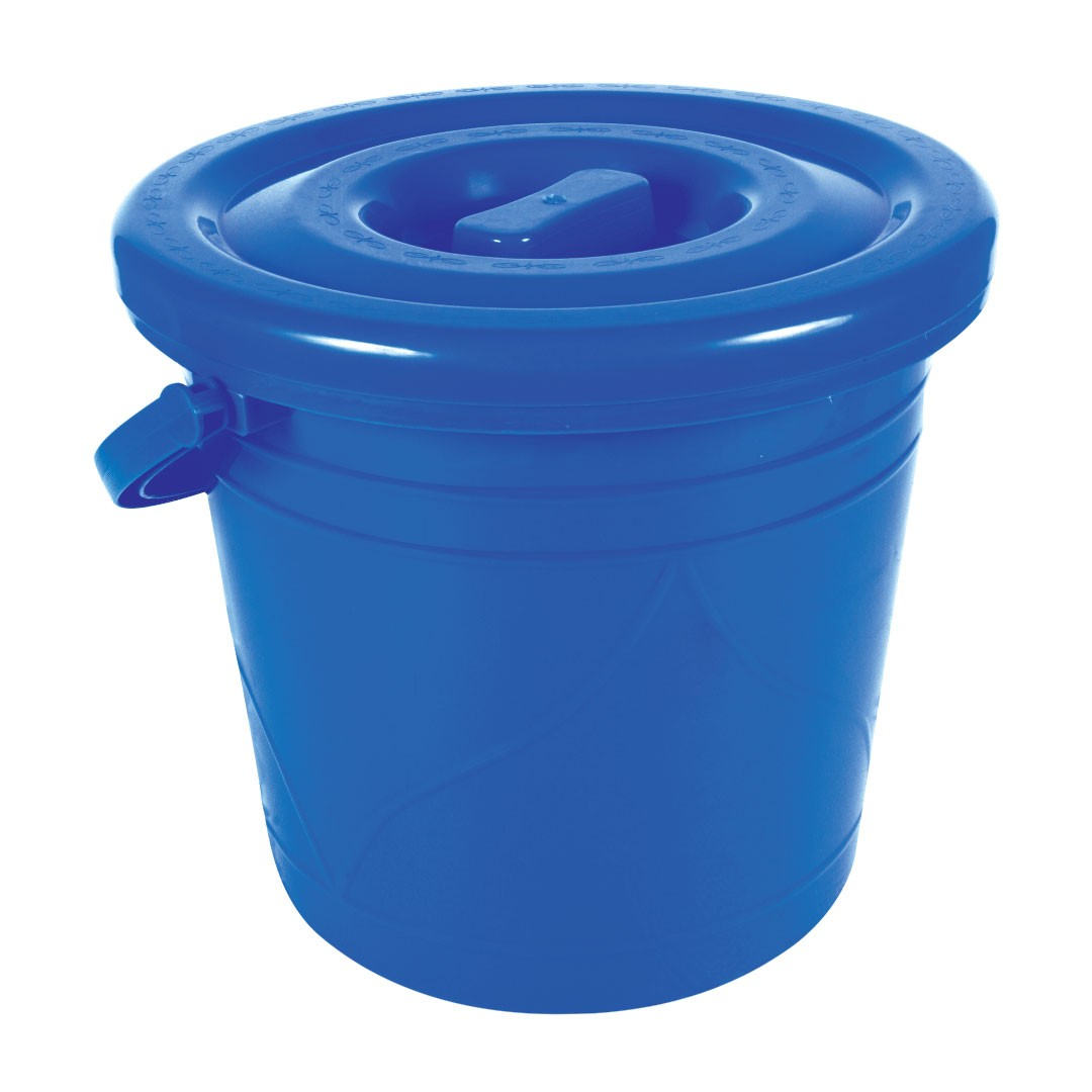 Bucket With Lid -25 Litter