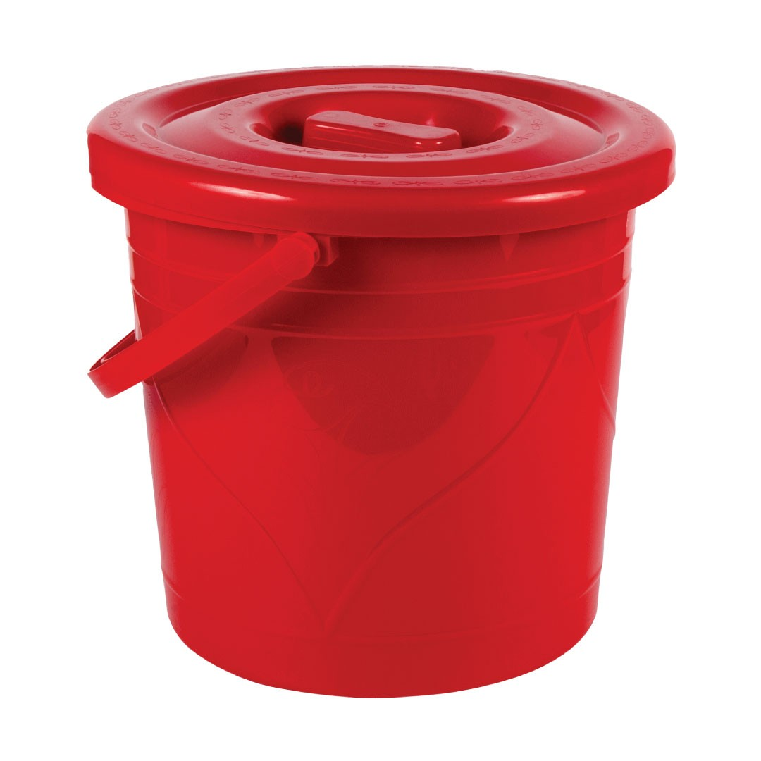 Bucket with Lid -8 Litter