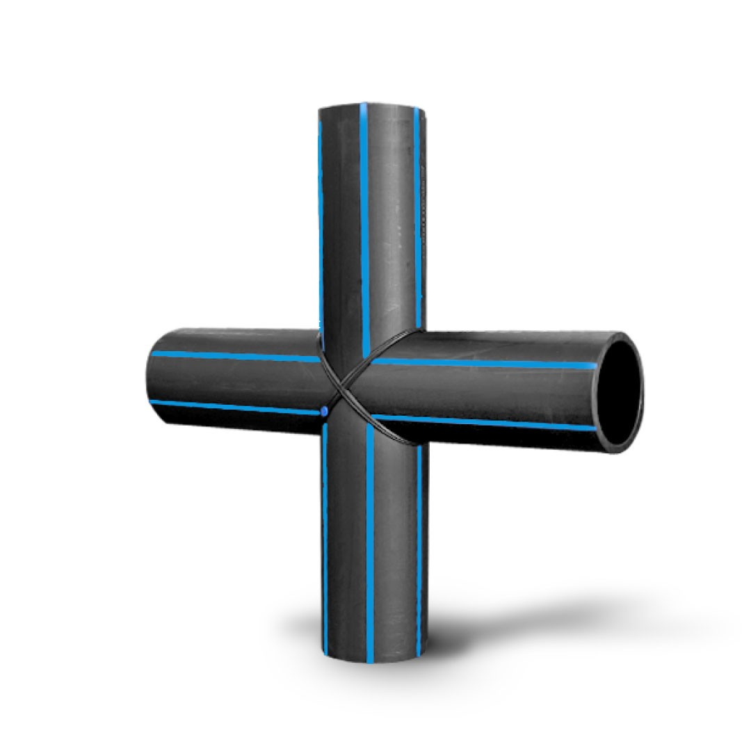 Butt Fusion Fabricated Fittings Cross Tee